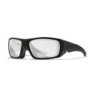 Wiley X Enzo Gloss Black (frame) - Clear (lens)
