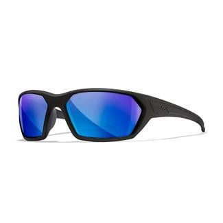 Wiley X Ignite Matte Black (frame) - Polorized Blue Mirror (lens)