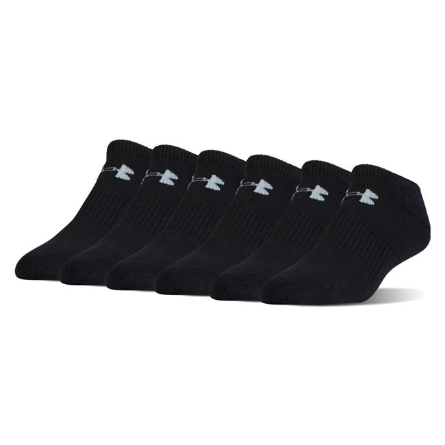 new concept 569c0 81b63 Under Armour Charged Cotton 2.0 No Show Socks - 6 Pack   Tactical ...