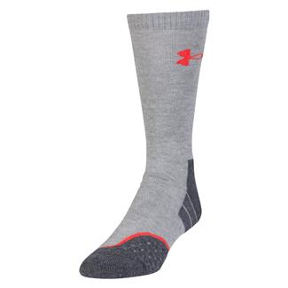 Under Armour AllSeason Wool Boot Socks True Heather Gray