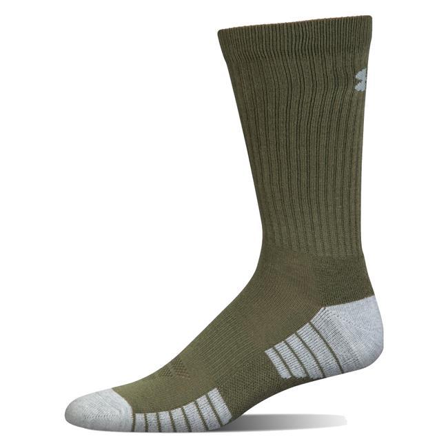 Under Armour Mens Heatgear Tech Crew Socks
