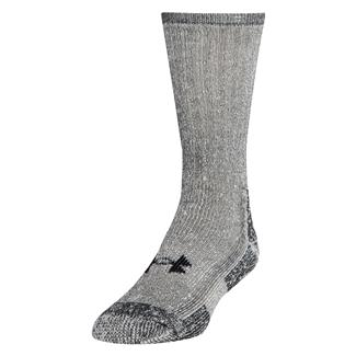 Under Armour Outdoor Boot Socks - 2 Pack Gray Marl