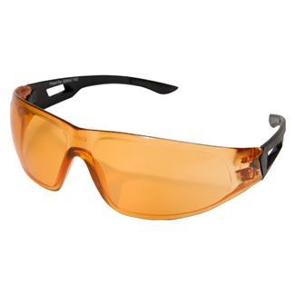 Edge Tactical Eyewear Dragon Fire Matte Black (frame) / Tiger's Eye Anti-Fog (lens)