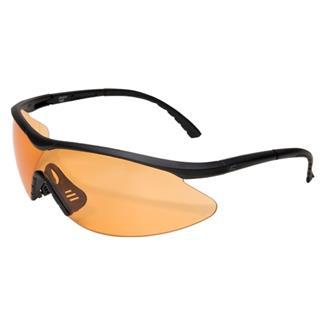 Edge Tactical Eyewear Fastlink Matte Black (frame) / Tiger's Eye Vapor Shield (lens)