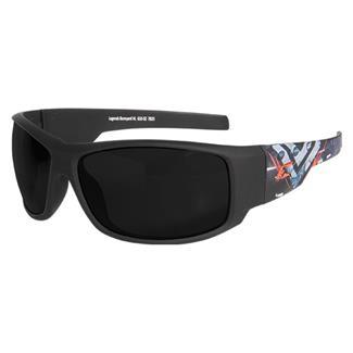 Edge Tactical Eyewear Legends Boneyard (frame) / Smoke Vapor Shield (lens)
