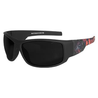 Edge Tactical Eyewear Legends Cataclysm (frame) / Smoke Vapor Shield (lens)
