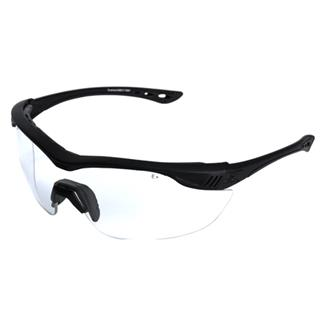Edge Tactical Eyewear Overlord 4 Lens Kit Matte Black (frame) / Clear Vapor Shield / Tiger's Eye Vapor Shield / G-15 Vapor Shield / Polarized Smoke (lens)