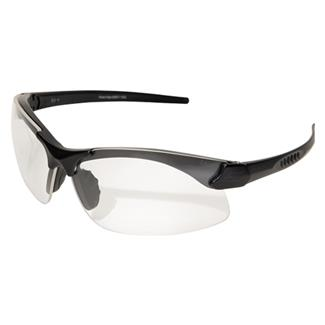 Edge Tactical Eyewear Sharp Edge Matte Black (frame) / Clear Vapor Shield (lens)