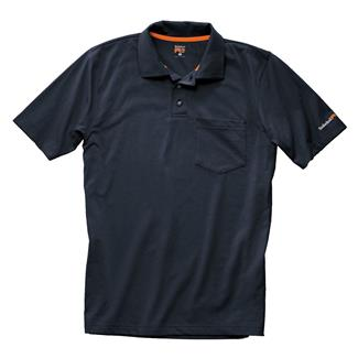 Timberland PRO Base Plate Blended Polo Shirt Dark Navy