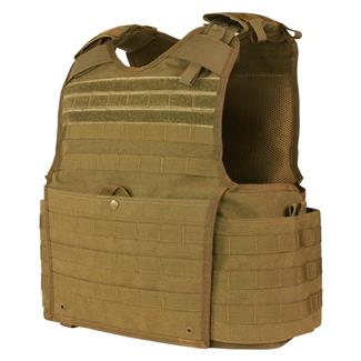 Condor Enforcer Releasable Plate Carrier Coyote Brown