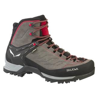 Salewa MTN Trainer Mid GTX Charcoal / Papavero