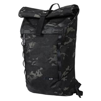 Oakley Voyage 23L Roll-Top Backpack Black Multicam