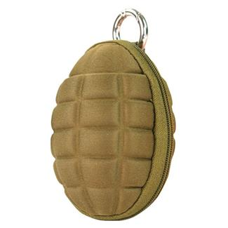 Condor Grenade Keychain Pouch Coyote Brown