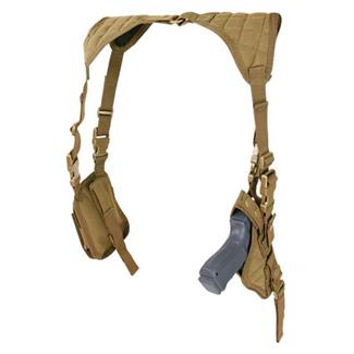 Condor Vertical Shoulder Holster Coyote Brown