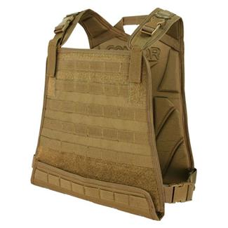 Condor Compact Plate Carrier Coyote Brown