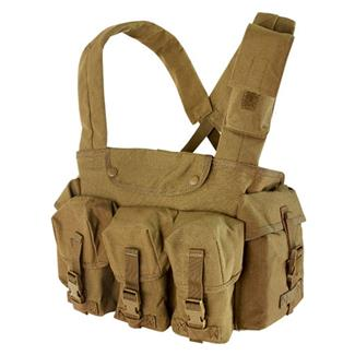 Condor CR 7 Pocket Chest Rig Coyote Brown