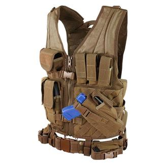 Condor CV Crossdraw Vest Coyote Brown