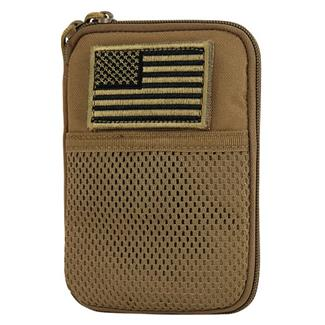 Condor Pocket Pouch with US Flag Patch Coyote Brown