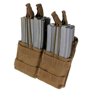 Condor Double Stacker M4 Mag Pouch Coyote Brown