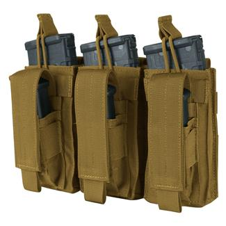 Condor Triple Kangaroo Mag Pouch Coyote Brown