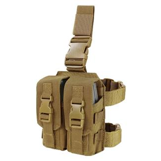 Condor Drop Leg M4 Mag Pouch Coyote Brown
