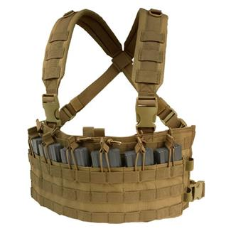 Condor MCR6 Rapid Assault Chest Rig Coyote Brown