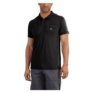 Carhartt Force Extremes Pocket Polo Black