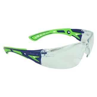 Bolle Rush Plus Blue / Green (frame) - Clear (lens)