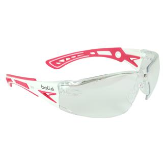 Bolle Rush Plus Pink / White (frame) - Clear (lens)