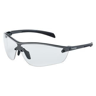 Bolle Silium Plus Dark Gunmetal / Black (frame) - Clear (lens)