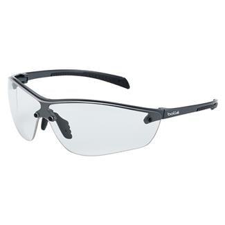 Bolle Silium Plus Dark Gunmetal / Black (frame) - Clear (lens)