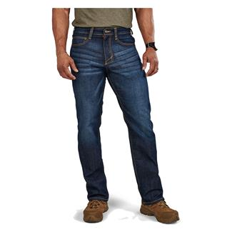 5.11 Straight Defender-Flex Jeans Dark Wash Indigo