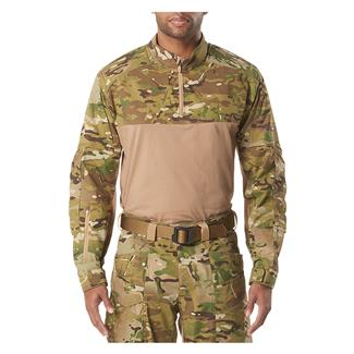 5.11 XPRT Rapid Quarter Zip Shirt MultiCam
