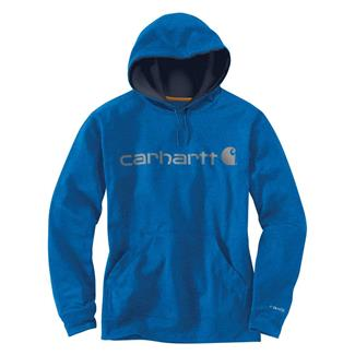 Carhartt Force Extremes Signature Logo Hoodie Huron Heather