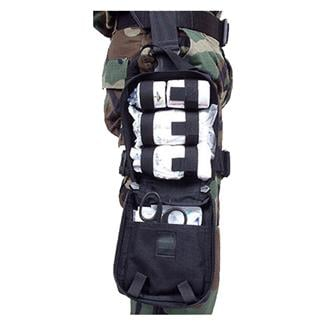 Blackhawk Omega Elite Modular Drop Leg Medical Pouch Black