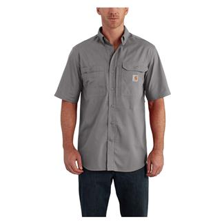 Carhartt Force Ridgefield Solid Short Sleeve Shirt Asphalt