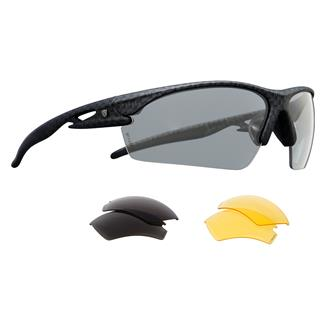 Browning Landing Zone Tactical Black Smoke / Clear / Yellow 3 Lenses