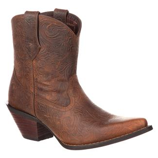 "Durango 7"" Crush Vintage Bootie Vintage Brown"