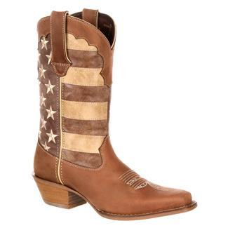 "Durango 12"" Crush Distressed Flag Brown / Union Flag"
