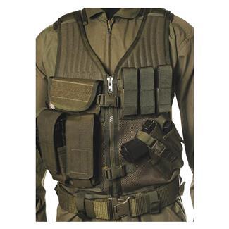 Blackhawk Omega Elite Vest Cross Draw Olive Drab