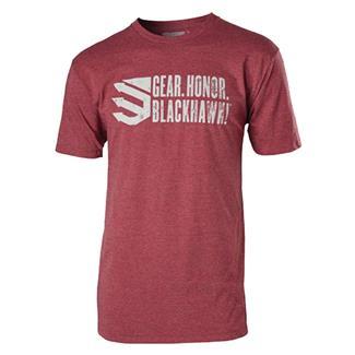 Blackhawk Gear. Honor. T-Shirt Burgundy
