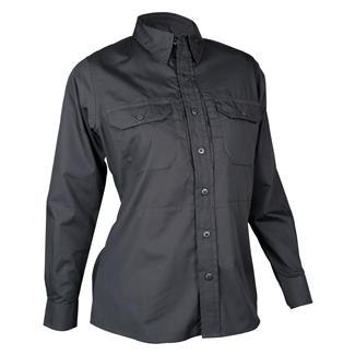 TRU-SPEC 24-7 Series Long Sleeve Dress Shirt Black