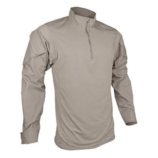 TRU-SPEC Poly / Cotton 1/4 Zip Urban Force Combat Shirt Khaki