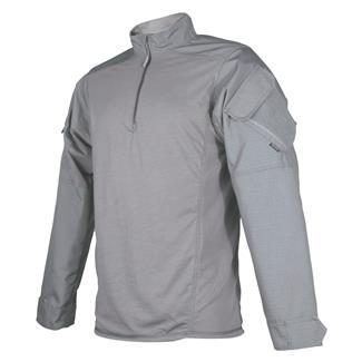 TRU-SPEC Poly / Cotton 1/4 Zip Urban Force Combat Shirt Gray