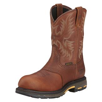"Ariat 10"" Workhog Pull-On CT WP Dark Copper"