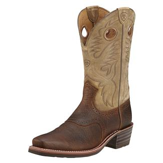 """Ariat 12"""" Heritage Roughstock Earth / Brown Bomber"""