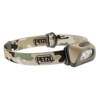 Petzl Tactikka Plus Headlamp Camouflage White / Red