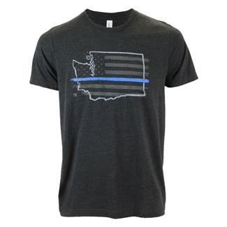 TG TBL Washington T-Shirt Charcoal Black