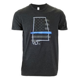 TG TBL Alabama T-Shirt Charcoal Black