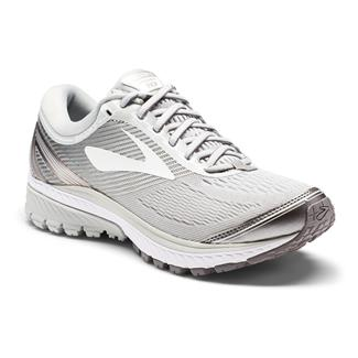 Brooks Ghost 10 Microchip / White / Metallic Charcoal